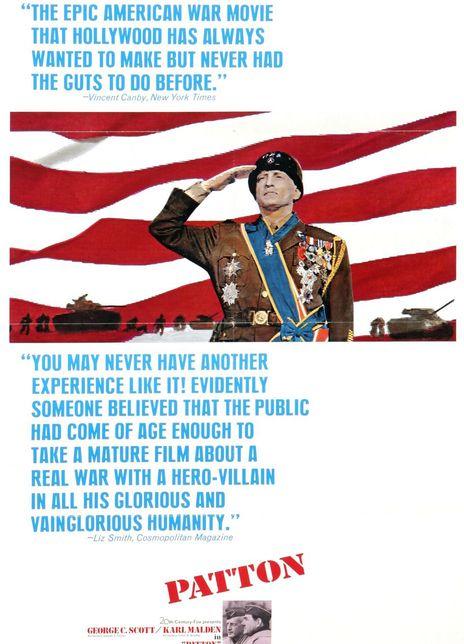 巴顿将军 1970高分传记战争 BD720P.国英双语.高清中英双字