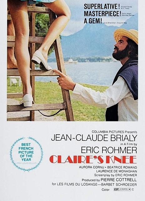 1970经典高分爱情《克莱尔的膝盖》BD1080P 高清迅雷下载