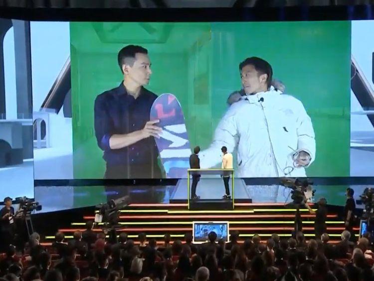 谢霆锋吴彦祖冯德伦金像奖重聚,上台方式太特别,还用了特效  第3张