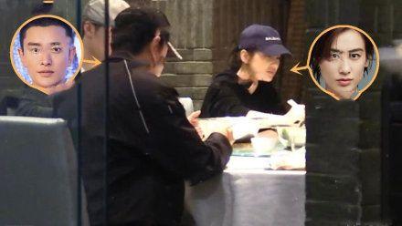 贾乃亮低调约饭黄圣依,原来他俩竟是同学  第6张
