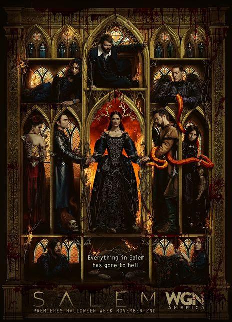 塞勒姆 第一季海报封面