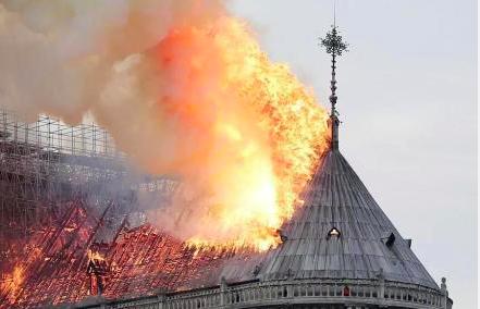 巴黎圣母院大火凶猛,范冰冰好友李玉感慨发文,4字道出网友心声  第4张