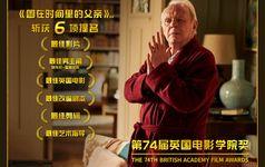 英國電影學院獎揭曉 索尼影業《困在時間裏的父親》獲6項提名