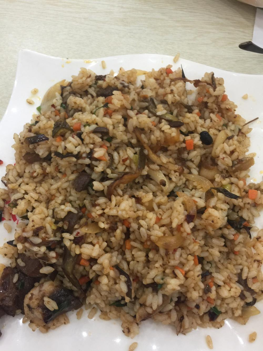 牛肉茄子炒饭-郑锦记牛肉饭-美团