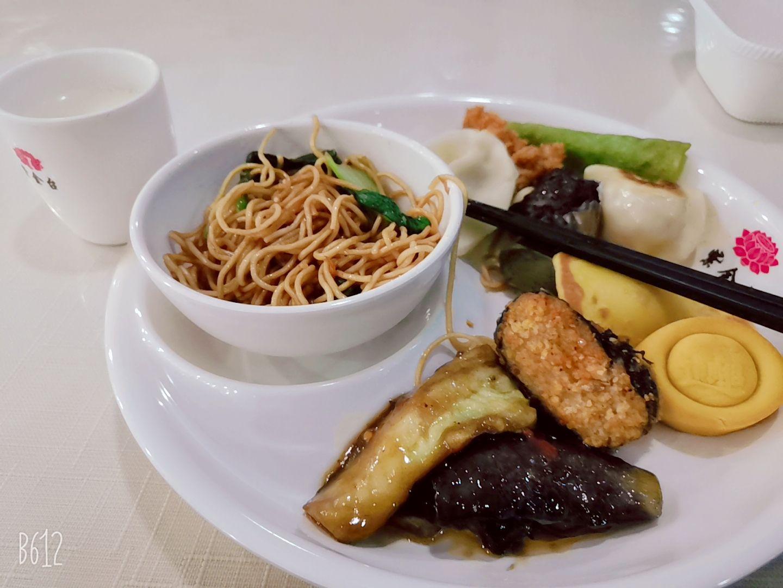 紫金台自由素食自助餐厅怎么样?
