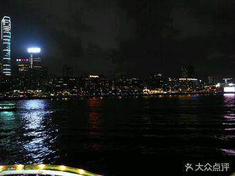 洋紫荆游轮维港夜游+自助餐