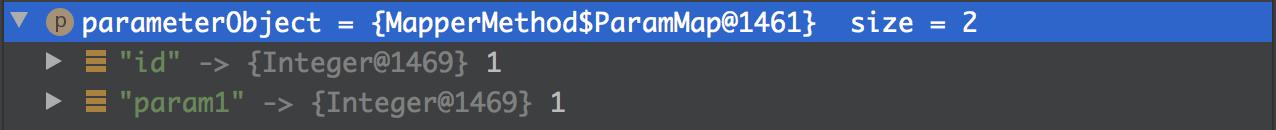 图7 parameterObject类型