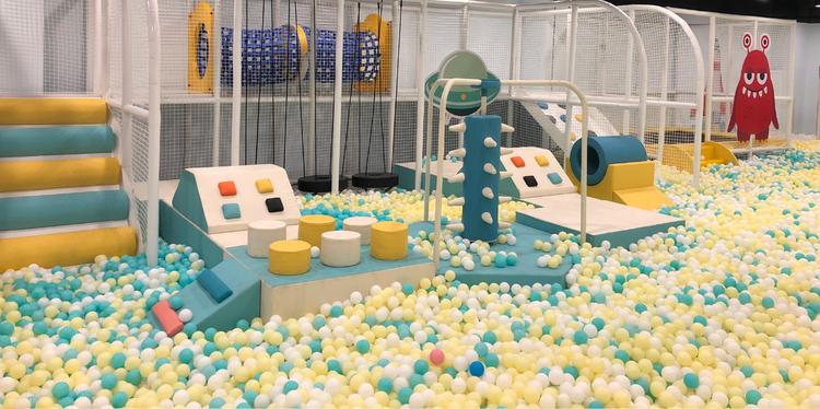 多乐星儿童乐园丨1-2个孩子玩共2次丨中登广场丨全场通玩