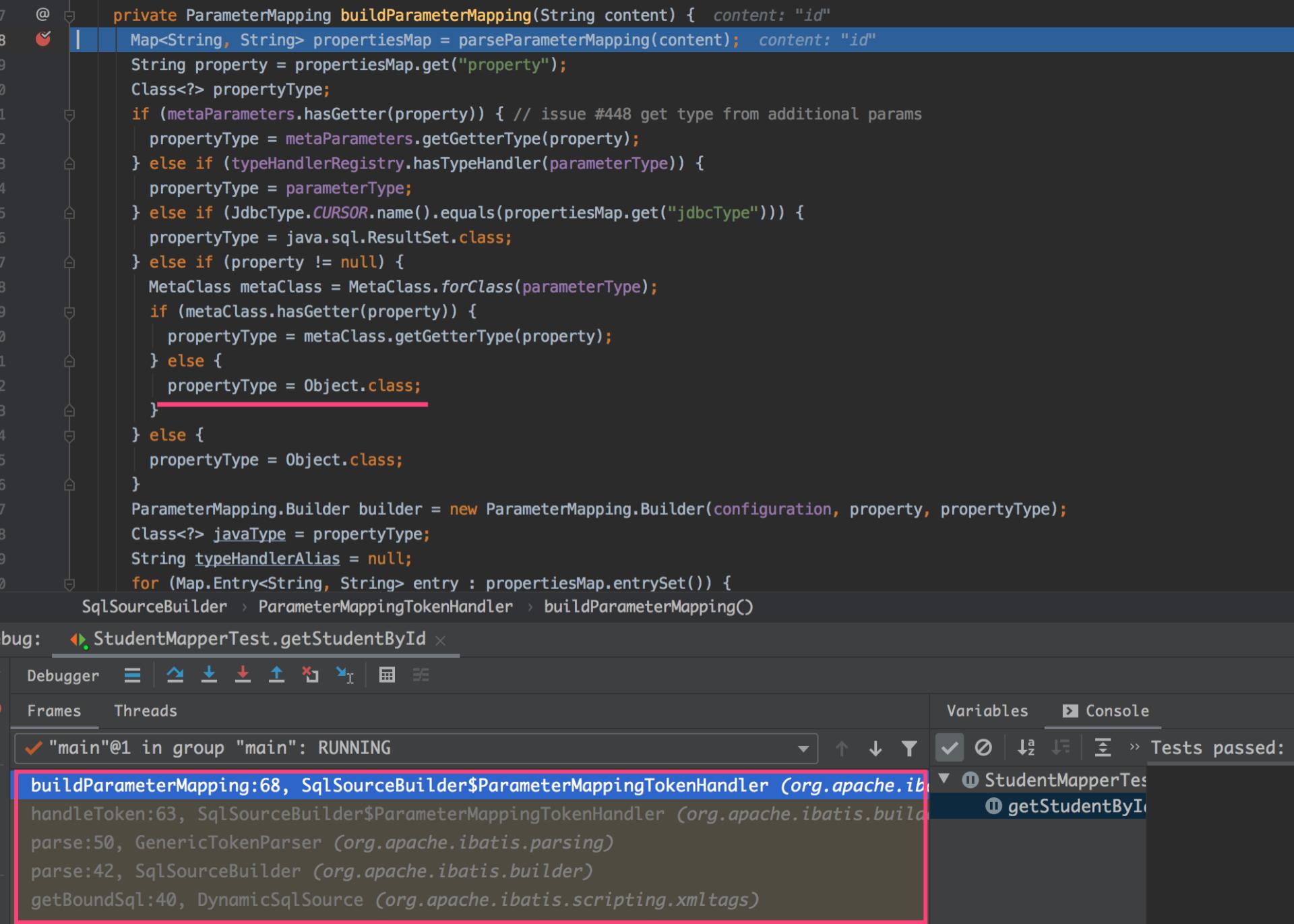 图8 buildParameterMapping过程