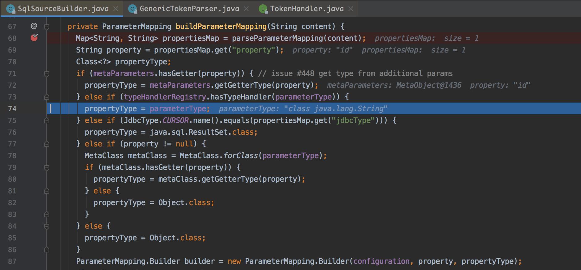 图16 构建ParameterMapping与3.2.3版本的差异