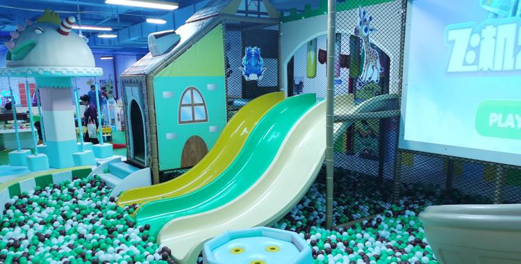 七乐堡儿童乐园丨一大一小套票丨免预约丨丈八北路丨遛娃好去处