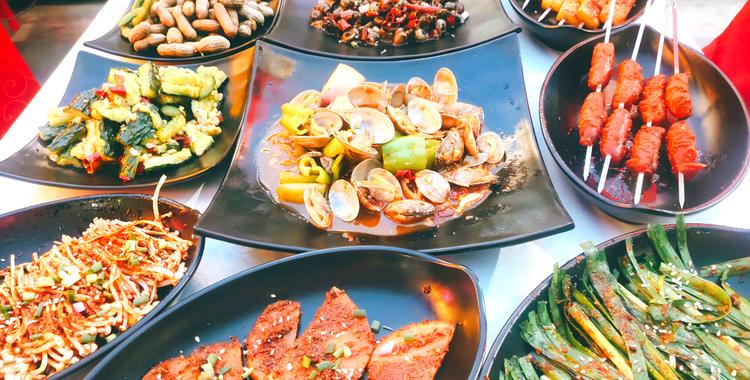 仙儿海鲜烧烤丨3~4人套餐丨雁塔区丨免预约丨应季美食