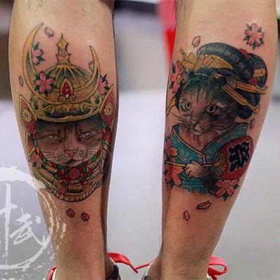 传统纹身款式图