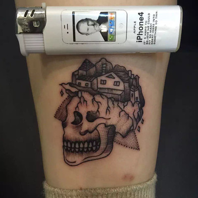 6×6黑白小图纹身款式图
