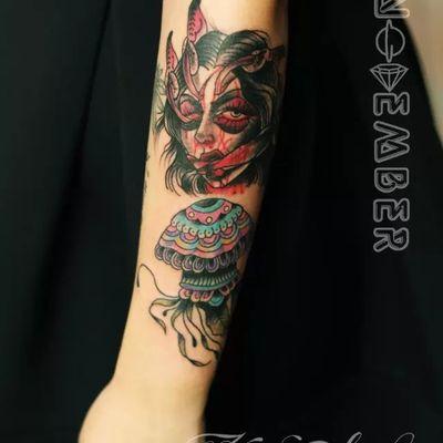 欧美纹身款式图