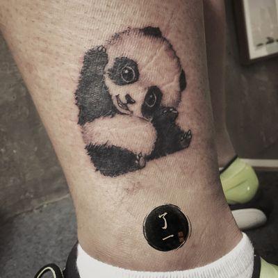 熊猫纹身图