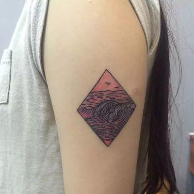 6×6彩色小图纹身款式图