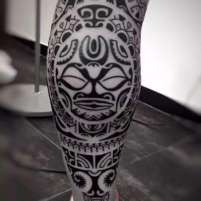 玛雅图腾纹身款式图