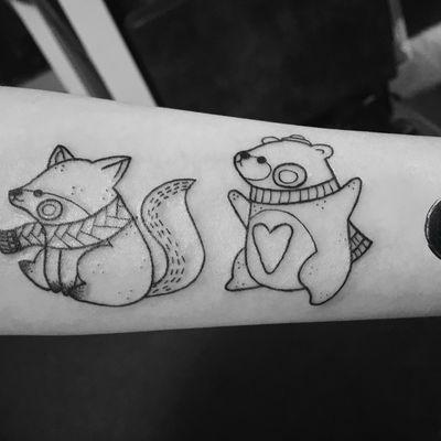 小清新纹身图