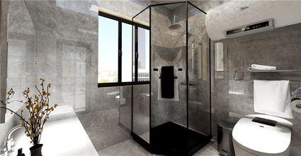 120平米三室两厅中式风格卫生间装修图片大全