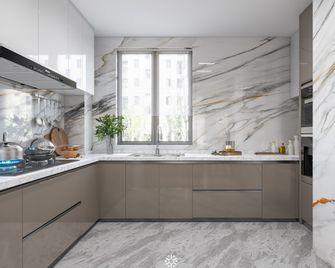 140平米三室两厅法式风格厨房装修案例