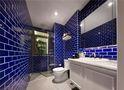 120平米四室一厅英伦风格卫生间设计图