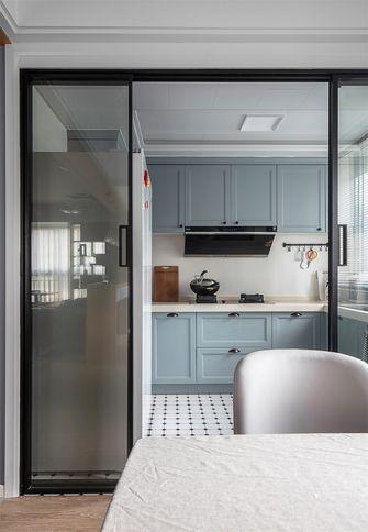 110平米现代简约风格厨房图片