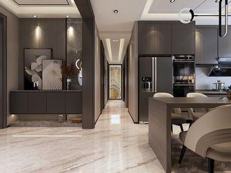 140平米三室一厅现代简约风格走廊图片