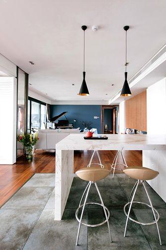 140平米三室四厅现代简约风格餐厅图片