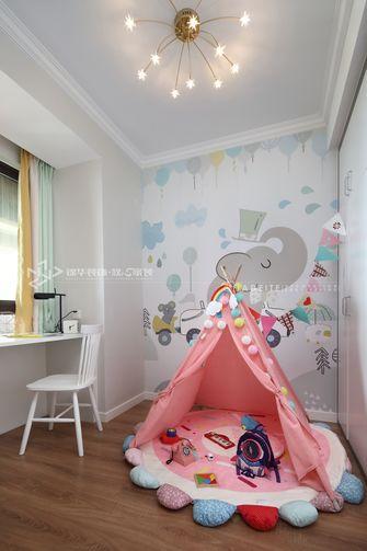 80平米三北欧风格儿童房欣赏图