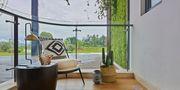 140平米三室一厅东南亚风格阳台效果图