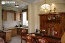 豪华型140平米四室三厅田园风格厨房欣赏图