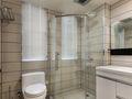 80平米现代简约风格卫生间浴室柜装修图片大全
