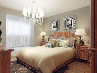 富裕型50平米一室两厅田园风格卧室效果图