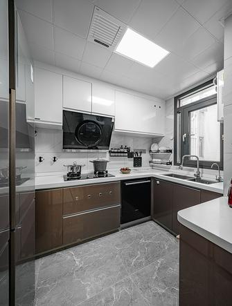 100平米三室两厅新古典风格厨房设计图