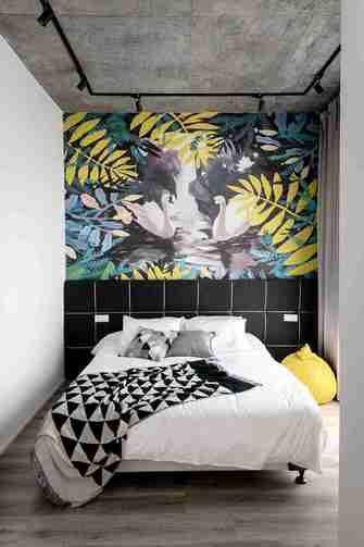 140平米四室三厅现代简约风格卧室图