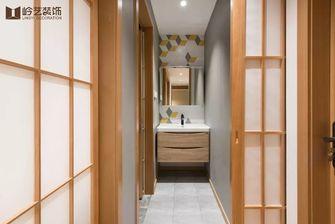 80平米三室两厅日式风格卫生间图片大全