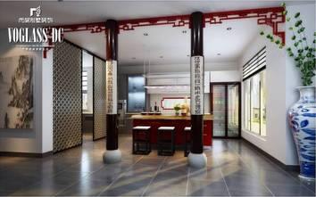 中式风格吧台设计图