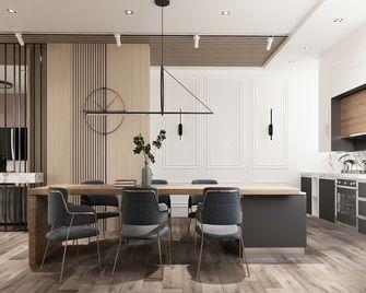 110平米三室一厅宜家风格餐厅装修案例