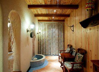 140平米复式地中海风格阳光房设计图