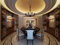 140平米四室三厅法式风格餐厅装修案例