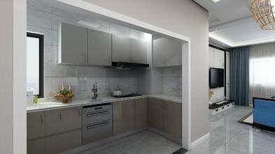 90平米三室三厅中式风格厨房设计图