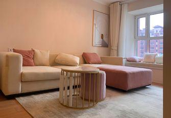 90平米三室一厅现代简约风格客厅图片