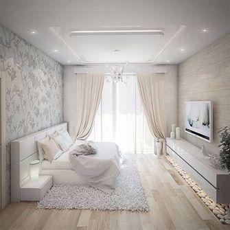 130平米三室一厅地中海风格卧室效果图