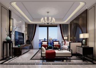 120平米三室两厅中式风格客厅图