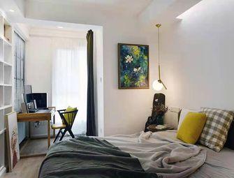 60平米一室两厅现代简约风格卧室图片