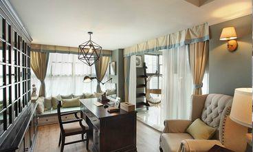 100平米三室一厅美式风格书房装修图片大全