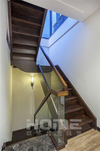 富裕型140平米复式中式风格楼梯欣赏图