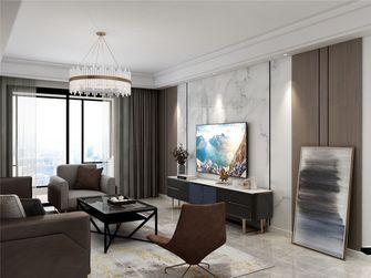 120平米四室三厅现代简约风格客厅欣赏图