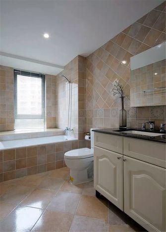 120平米三室两厅美式风格卫生间装修案例